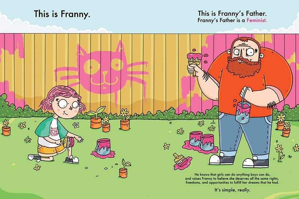 a franny by fence