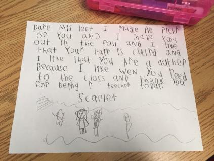scarlet letter to teacher